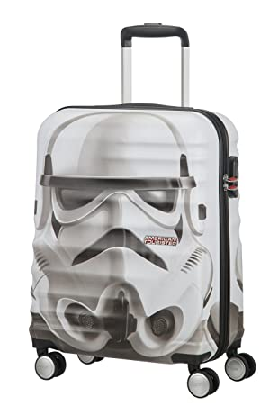 American tourister - Disney Wavebreaker Star Wars Storm Trooper, Maleta Spinner 55/20, 55 cm, 36 L, 3.5 KG Multicolour (Star Storm Trooper): Amazon.es: ...