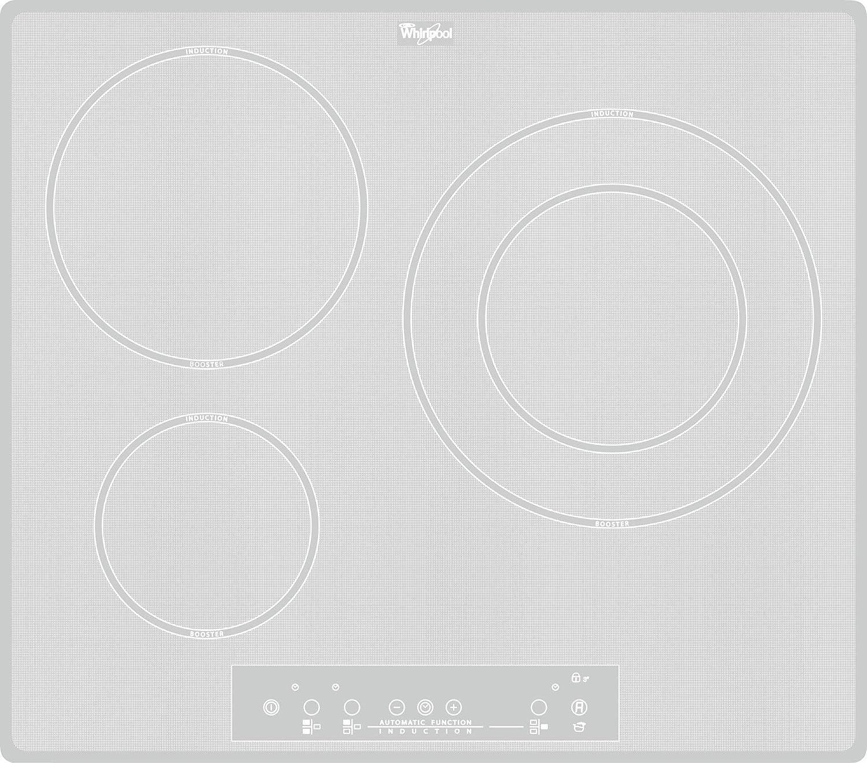 Whirlpool ACM 680/NE/WH - Placa de cocina de inducción ...