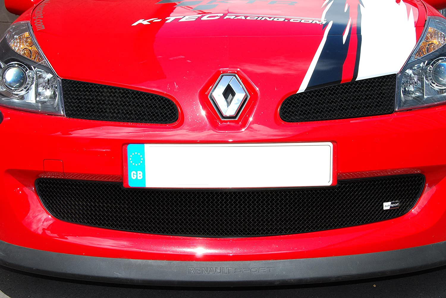 RS carbon effect 2005-2008 197 Diamond Performance Renault Clio 3 carbon effect badge covers front and rear,