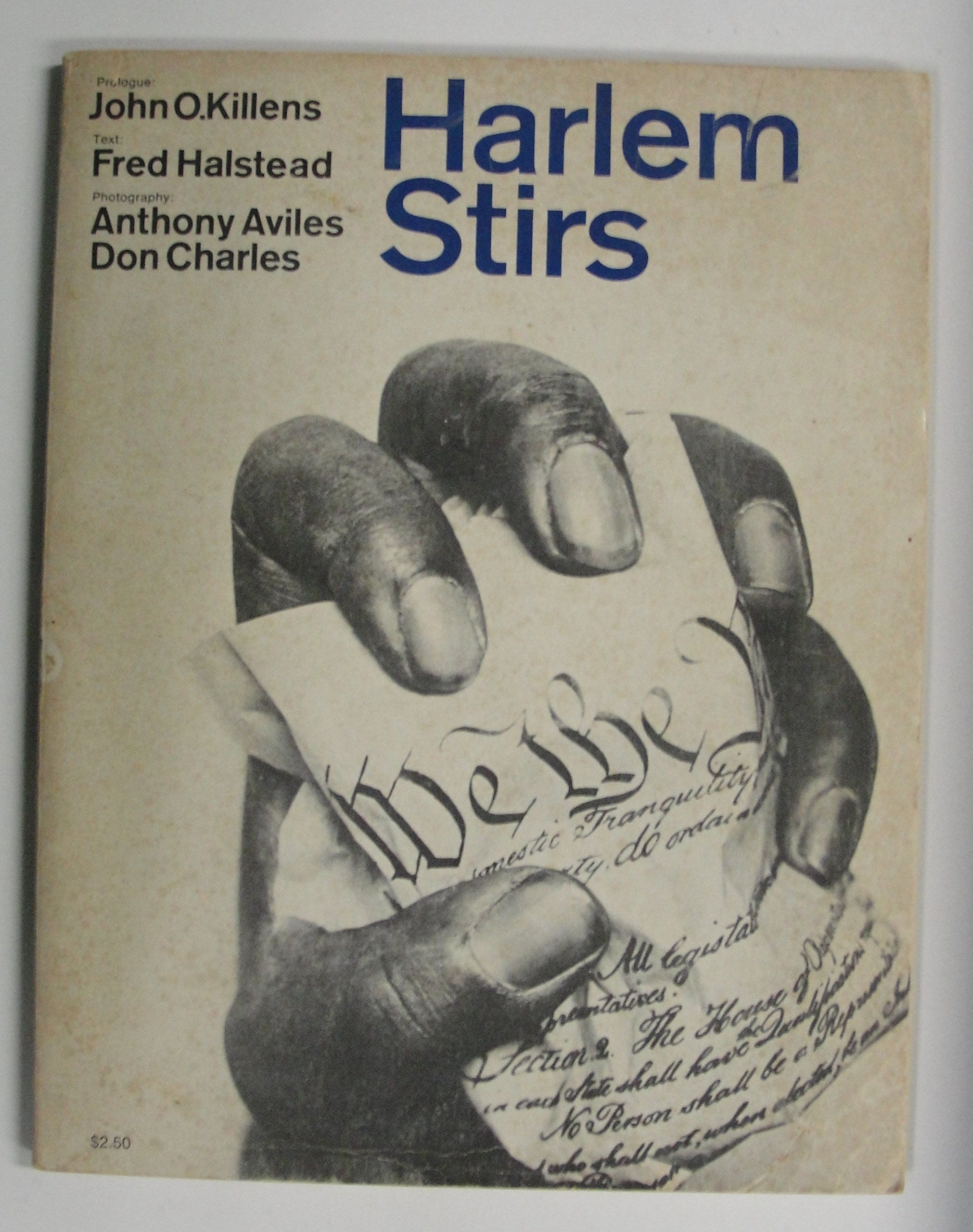 Amazon.com: Harlem stirs. Prologue John O. Killens ...
