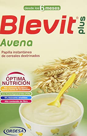 Blevit Plus Avena Cereales - 300 gr