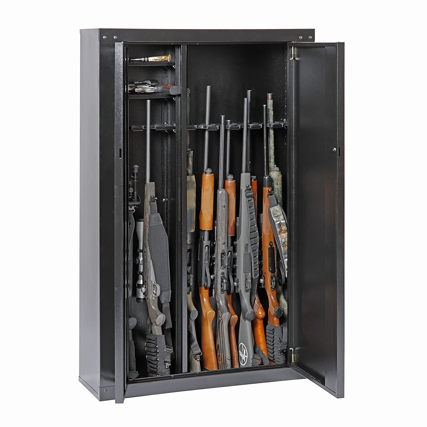 Gun Security Cabinet >> Amazon Com American Furniture Classics Gun Security Cabinet 16 Gun