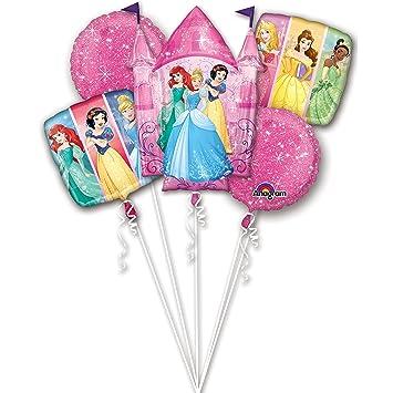 Amazon Princess Party Birthday Cake Bouquet Balloons 5 Pieces