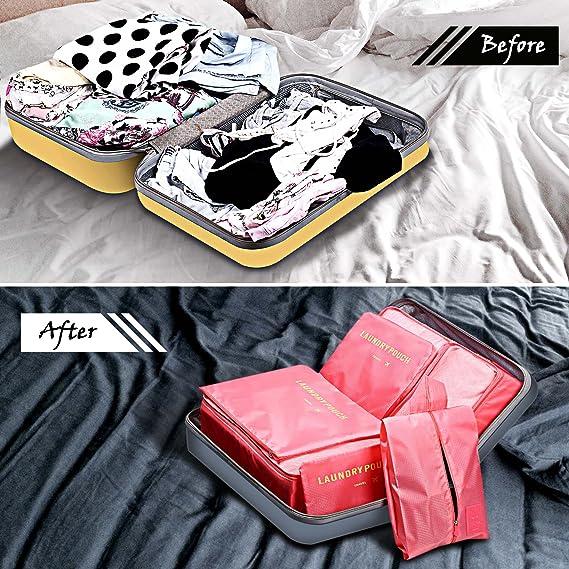 Amazon.com: SGM Cubitos de embalaje para viajes: juego de 7 ...