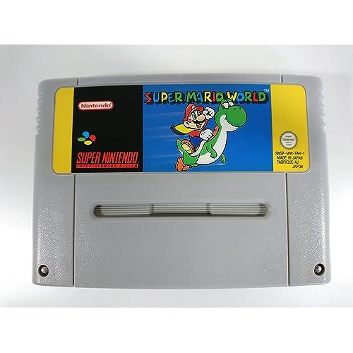 Super Mario World SNES Super Nintendo Entertainment System (Pal)
