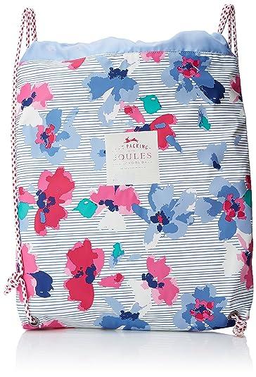 9430397c5053 Joules Girls Rubber Bag Wallet Multicolour (Lily Pond Stripe ...