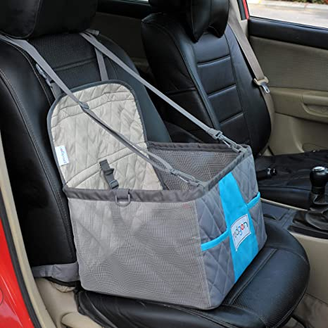 Prodigen Pet Booster Seat Dog Car For Small Dogs Carrier And