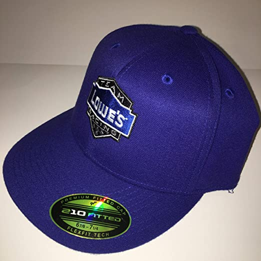 72a269ddc7ece NEW Jimmie Johnson Hendrick Motorsports NASCAR PIT CREW Hat Cap Team Issued  210 Fitted Lowe s Racing FlexFit at Amazon s Sports Collectibles Store