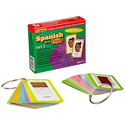 Spanish in a Set 2 Flash Cards