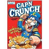 Deals on Cap N Crunch Breakfast Cereal, Variety Pack, 14 oz.