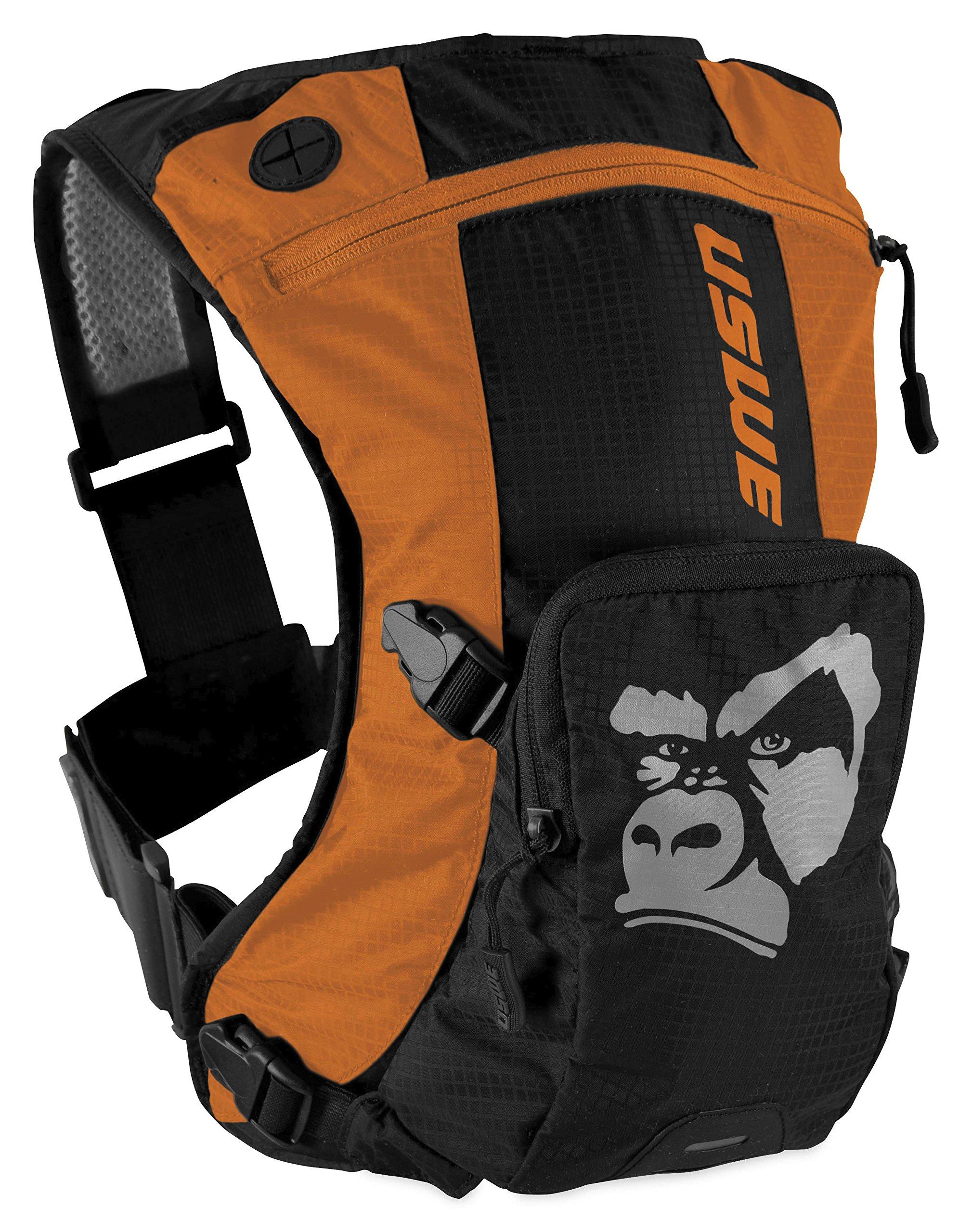 Uswe Orange-Black Ranger - 3 Litre Hydration Pack (Default , Orange) by USWE