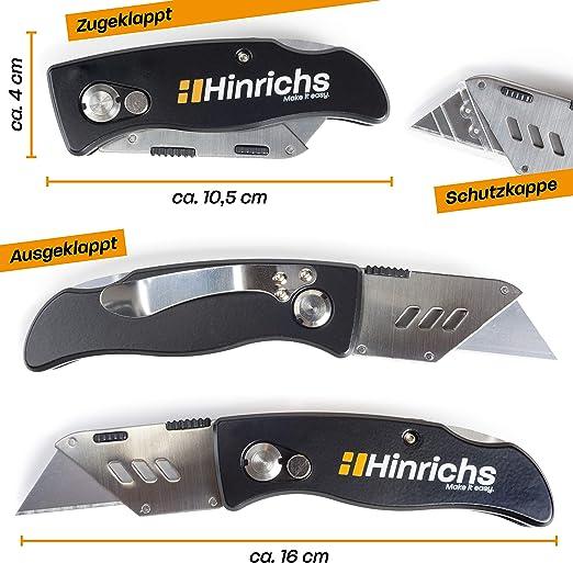 Kraftmann 85816 con 5 cuchillas 38 mm Rasqueta universal