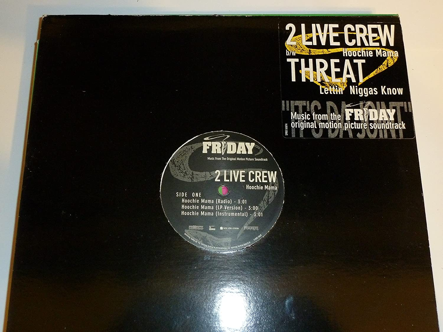 2 Live Crew Hoochie Mama Threat Music From The Motion Picture Friday Amazon Com Music Let me see ya touch the ground! crew hoochie mama threat music