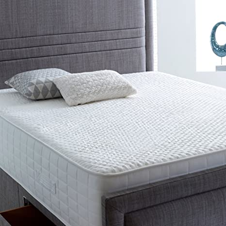 AVAX 3000 muelles ensacados colchón de espuma de memoria de lujo con alta Spec Natural de ...