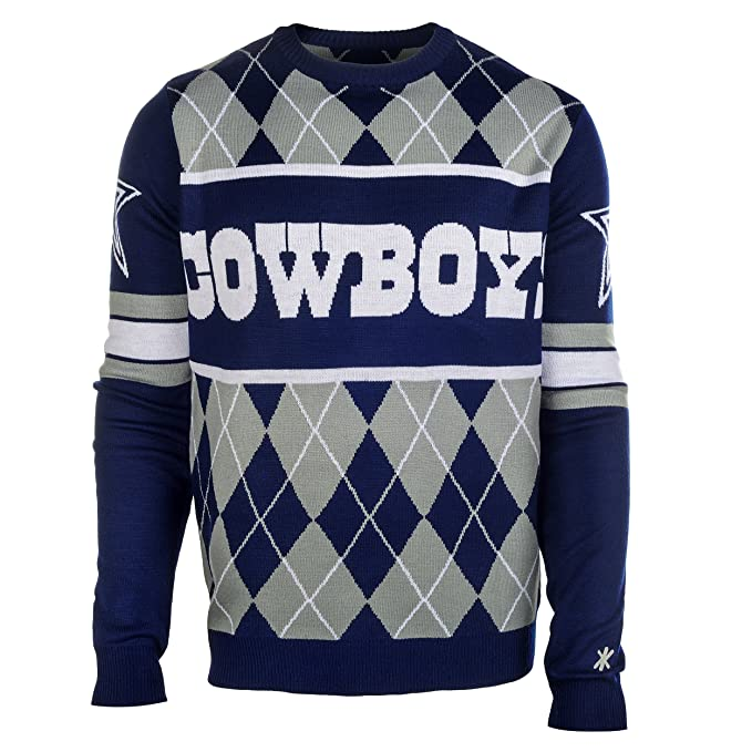 Image Unavailable. Image not available for. Color  NFL Football Dallas  Cowboys Exclusive Argyle Sweater Medium a5c222290