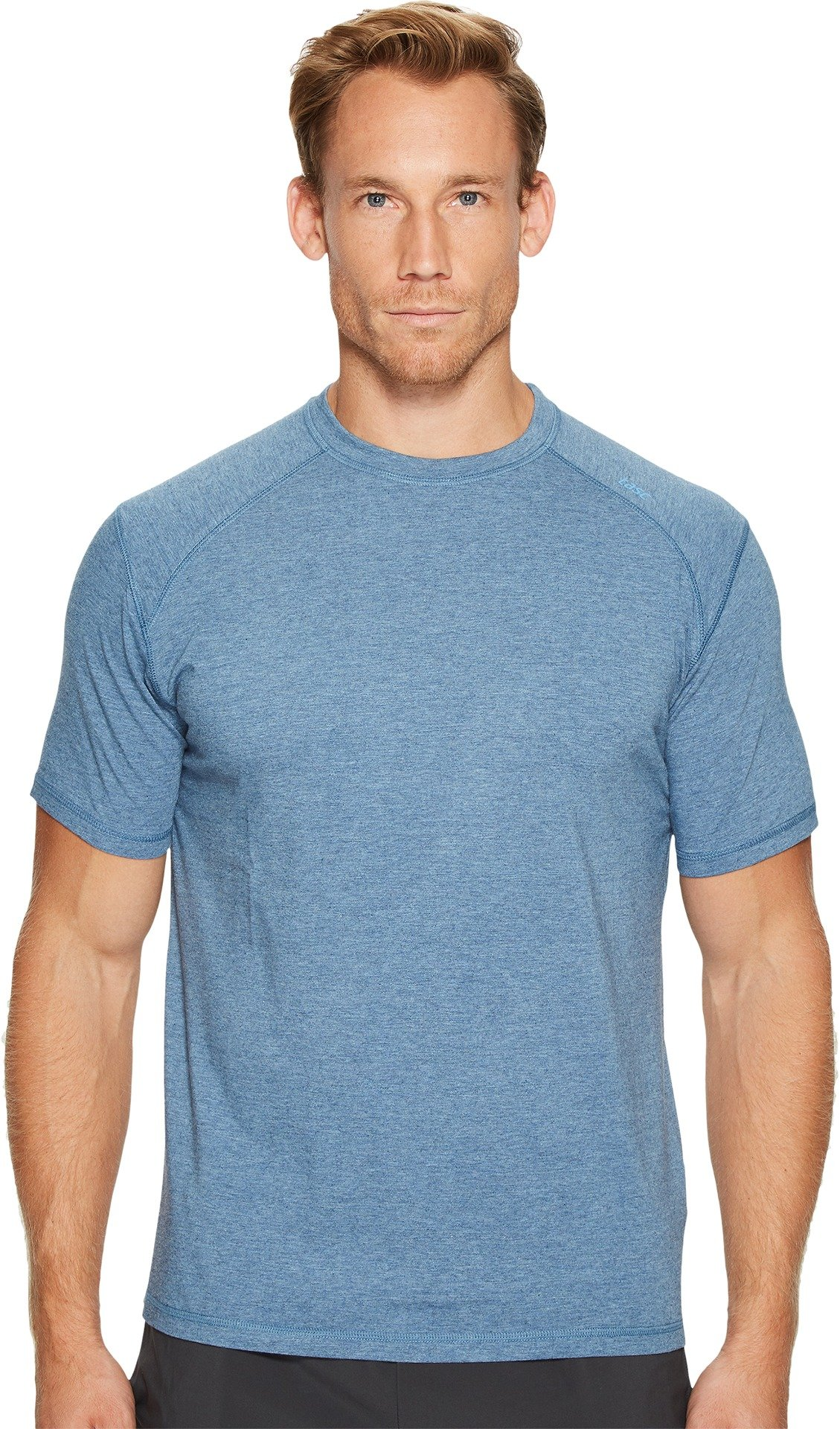 tasc Performance Carrollton T-Shirt, Indigo Heather, Small by tasc Performance