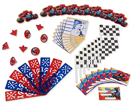 American Greetings Blaze and the Monster Machines Value Party Favor Pack