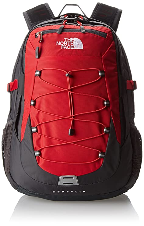 6a57f1891 The North Face Borealis Hiking Backpack One Size TNF Red Asphalt ...