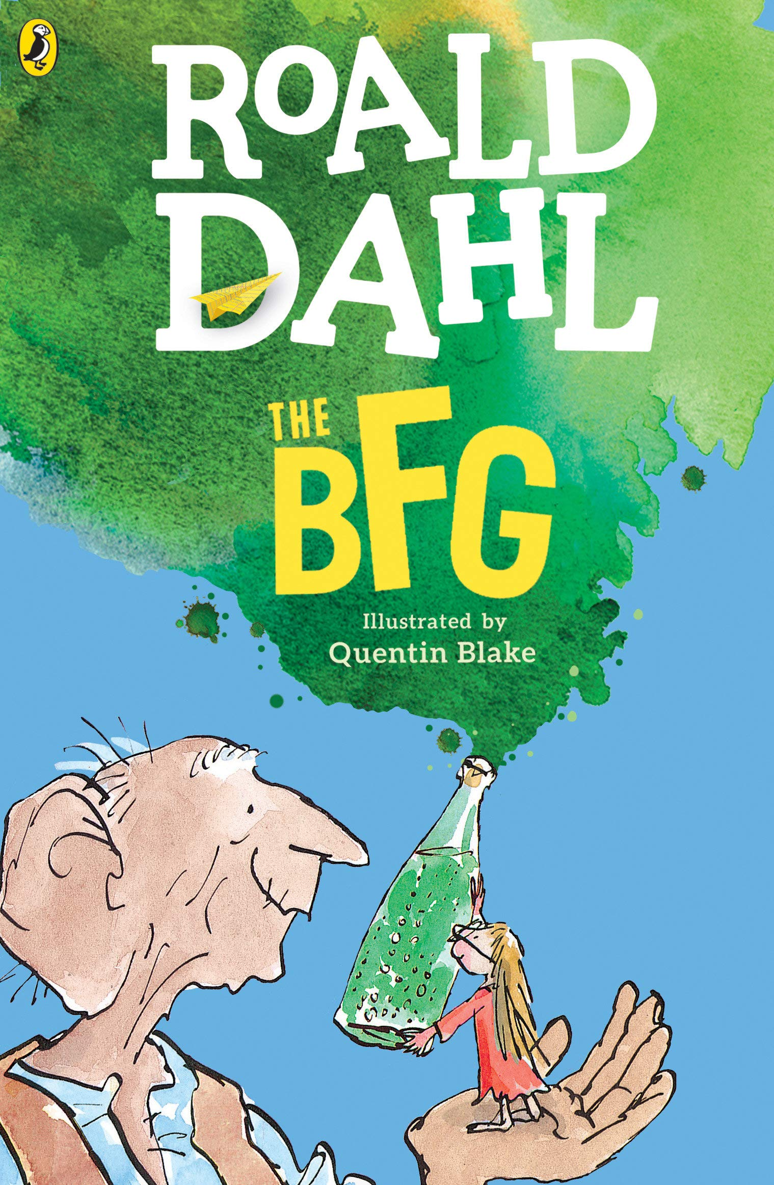 The Best Chapter Books for 1st Graders featured by top Seattle lifestyle blogger, Marcie in Mommyland: the BFG