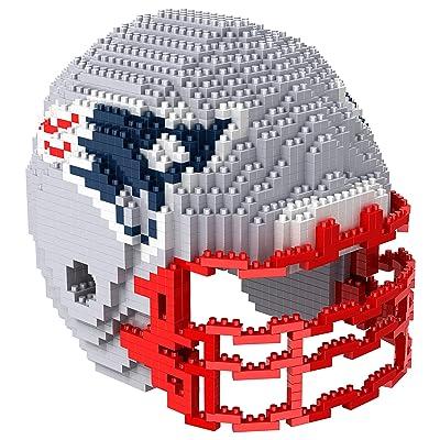 New England Patriots NFL 3D BRXLZ Construction Toy Blocks Set - Helmet: Clothing