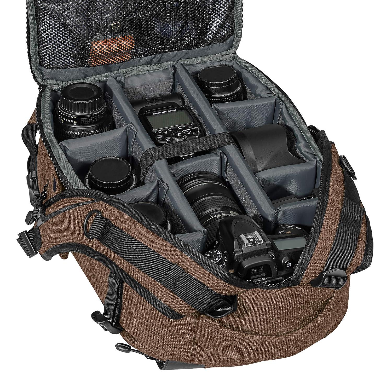Fashion Funda para C/ámara Sony SLT-A58/K Alpha 68//Canon EOS 80d//Pentax K de 70//Panasonic Lumix DMC-FZ1000