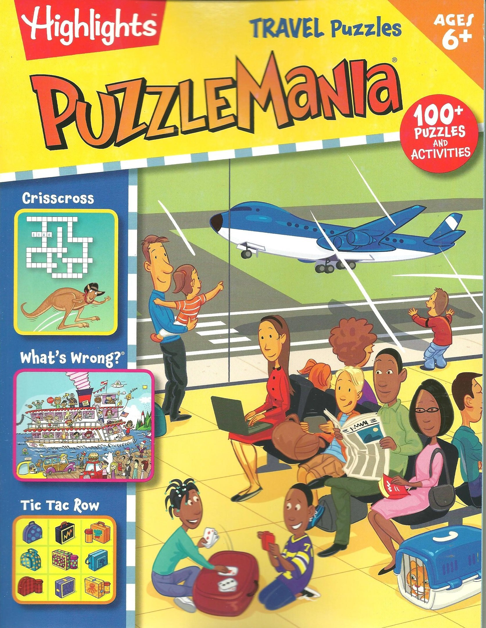 Read Online Highlights Magazine Travel Puzzles Puzzle Mania 2016 ebook