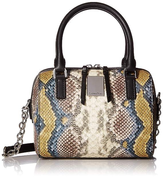 Amazon.com: Calvin Klein Tonya Python - Bolso pequeño, Multi ...