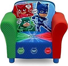 Delta Children Upholstered Chair, PJ Masks