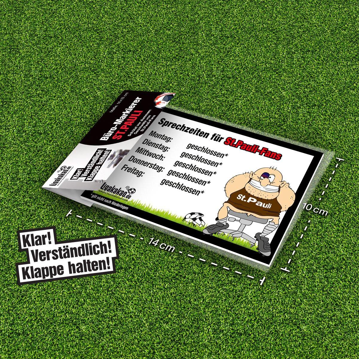 Eingangs- /& T/ür-Schild B/üro-Abwehrschild Bremen Sch/ützt den Arbeitsplatz von HSV- St.Pauli- /& Allen Fu/ßball-Fansvor verirrten Bremen-Fans /Öffnungszeiten Sprechzeiten-