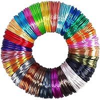 25 Colors Silk Shiny PLA Filament Sample Pack, Each Color 4 Meter Length, Total 100m 3D Printer 3D Pen Material Refill…
