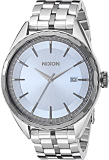 Nixon Womens Minx Quartz Stainless Steel Watch, Color:Silver-Toned (
