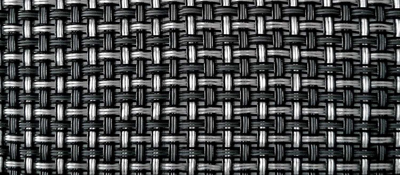 Tenax 1A140305TexStyle VIP Valla de ocultación Brise Vue Antracita/Plata, PVC 500,0x 0,1x 100,0cm 1A140305