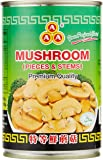 3A Canned Mushrooms, Pieces & Stems, 425g