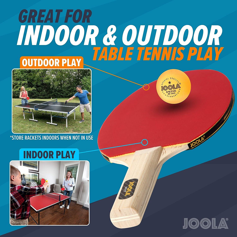 1 x PING PONG Raquette Balle Tennis de Table Net Post Set Indoor Outdoor Sports Jeux