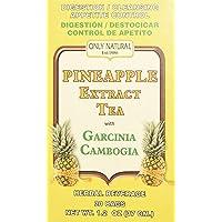 Only Natural Tea Pineapple Extract, Garcinia Cambogia Tea Bags, 20 Count