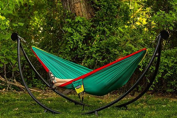enopod hammock stand person eno triple products hammocks town