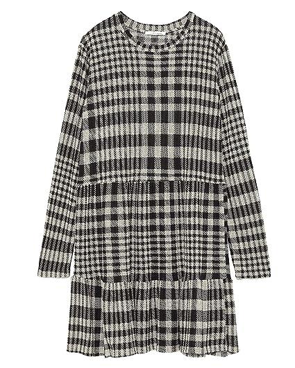 f5d236c4 Zara Women's Ruffled Dress 0219/357 (Medium) Orange: Amazon.co.uk ...