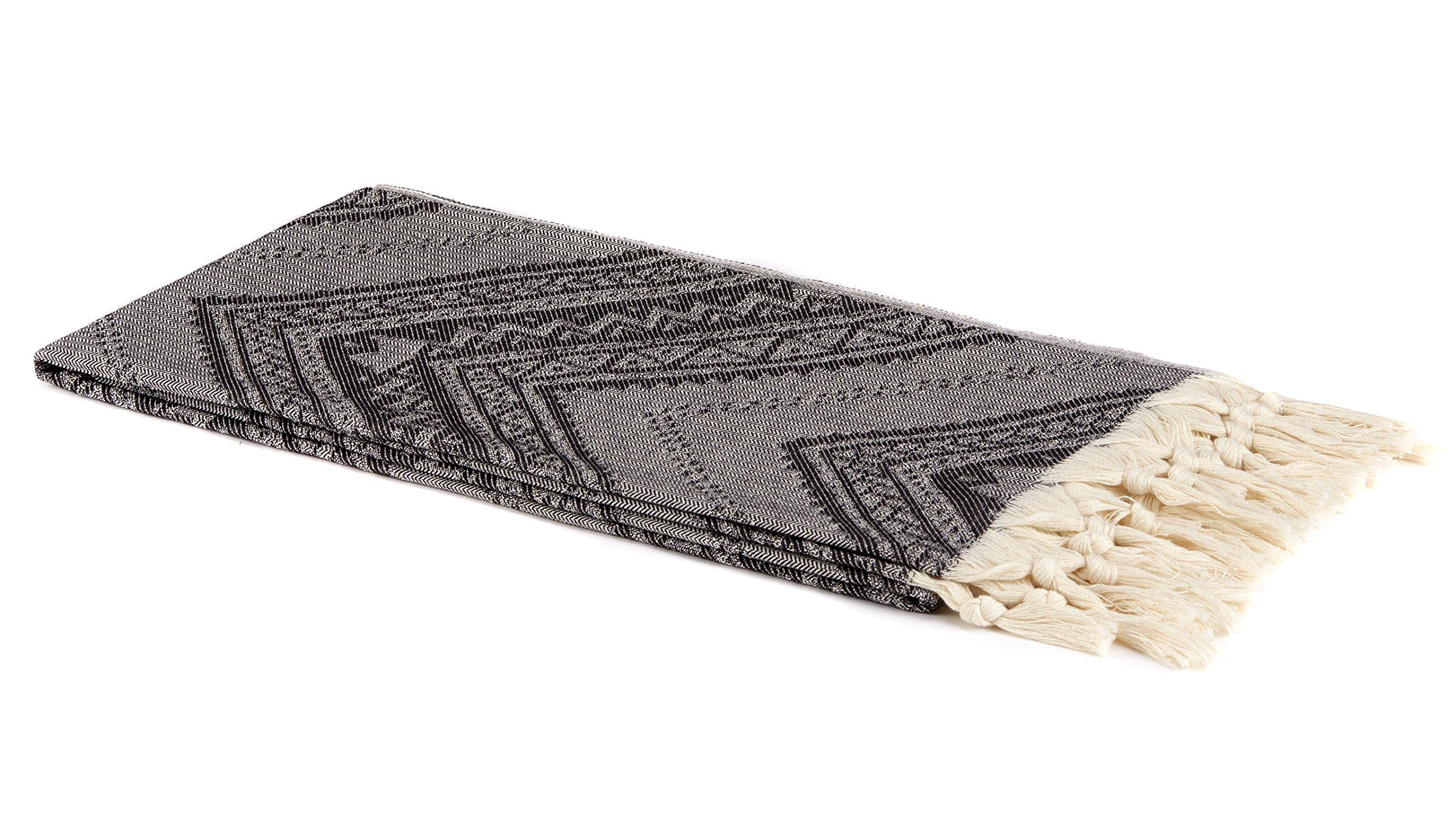 Lushrobe Peshtemal Beach Towel - folded