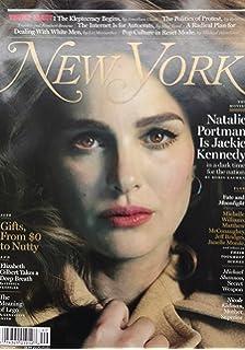 New York Magazine (November 28, 2016-December 13, 2016) Natalie Portman