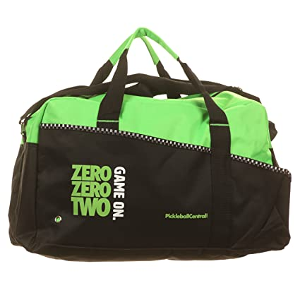 4fa1dfd970f9e2 Amazon.com : Game On Pickleball Duffle Bag (Lime Green) : Sports ...