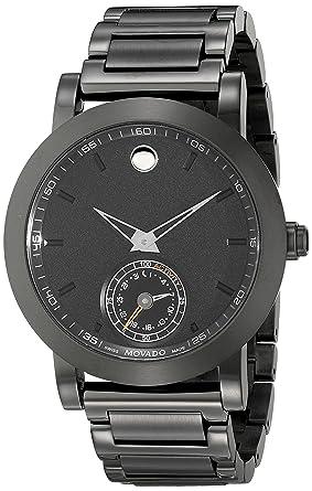 Movado Men S 0660002 Black Stainless Steel Smart Watch
