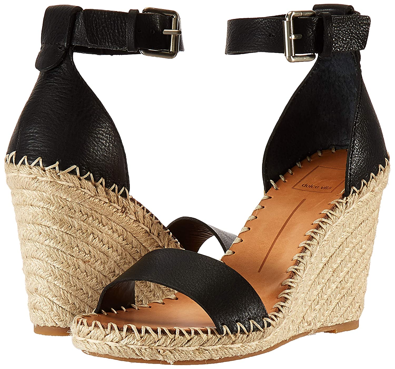 010e0ea73401 Amazon.com  Dolce Vita Women s Noor Wedge Sandal  Shoes
