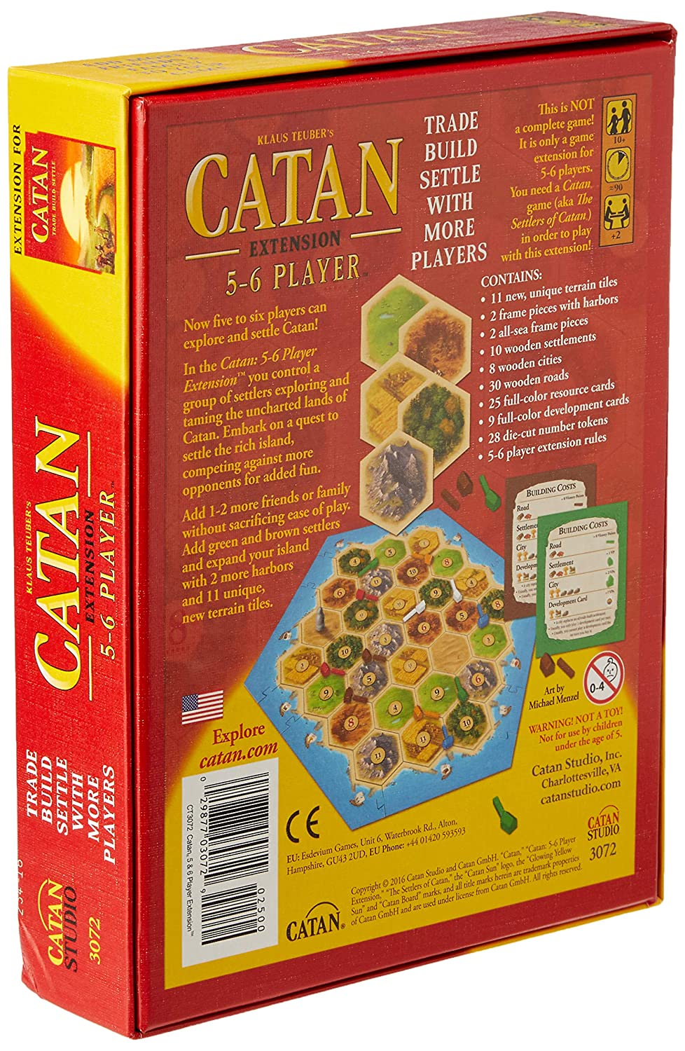 Mayfair Games The Settlers of Catan 5 /& 6 Player Extension 4th Edition MFG3062