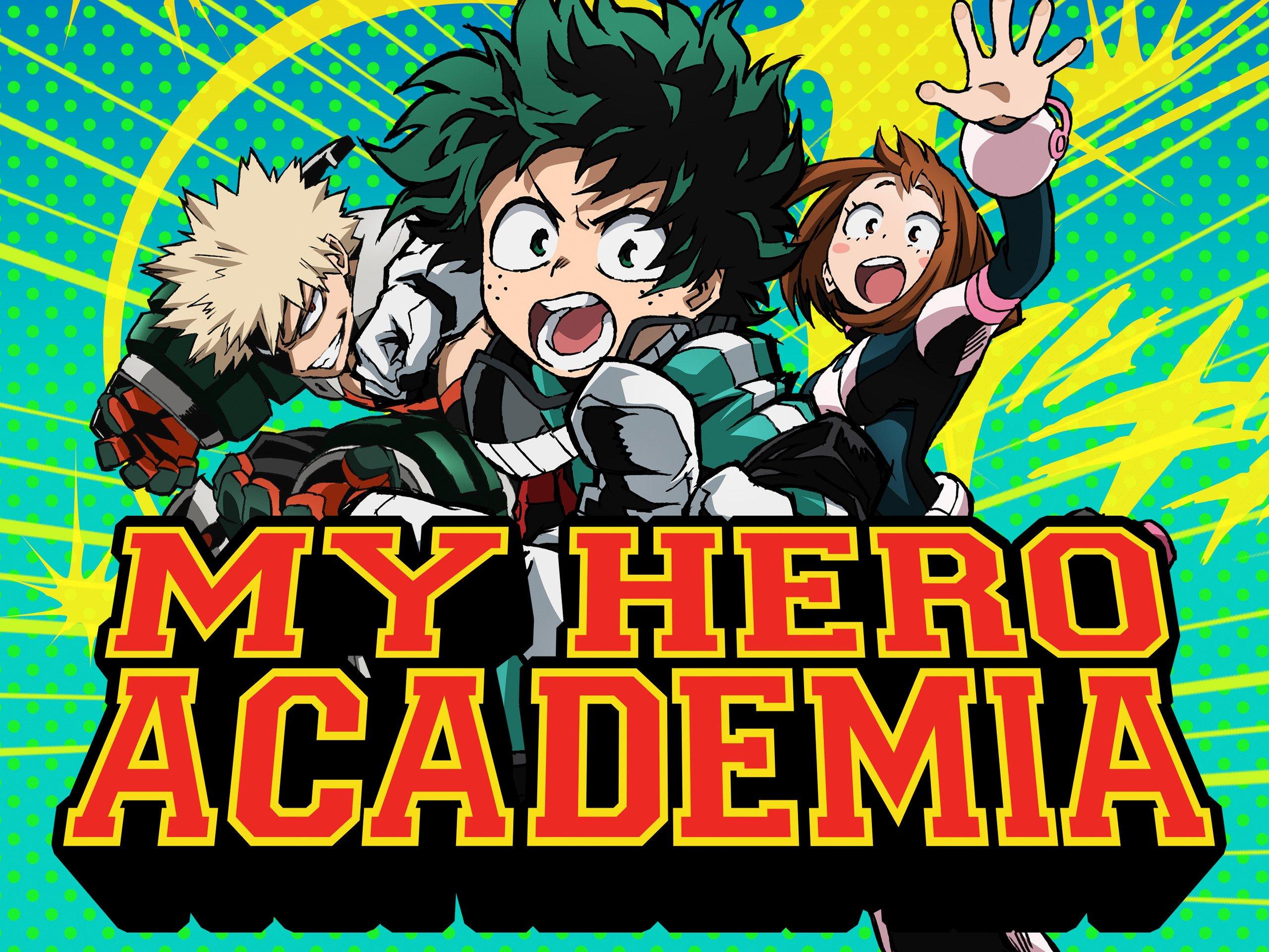Amazoncom Watch My Hero Academia English Subtitled Prime Video