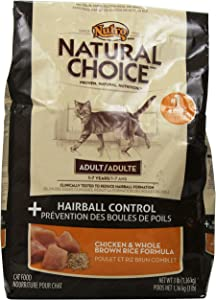 Natural Choice Hairball Control Adult Cat Chicken And Whole Brown Rice Formula - 3 Lbs. (1.36 Kg)