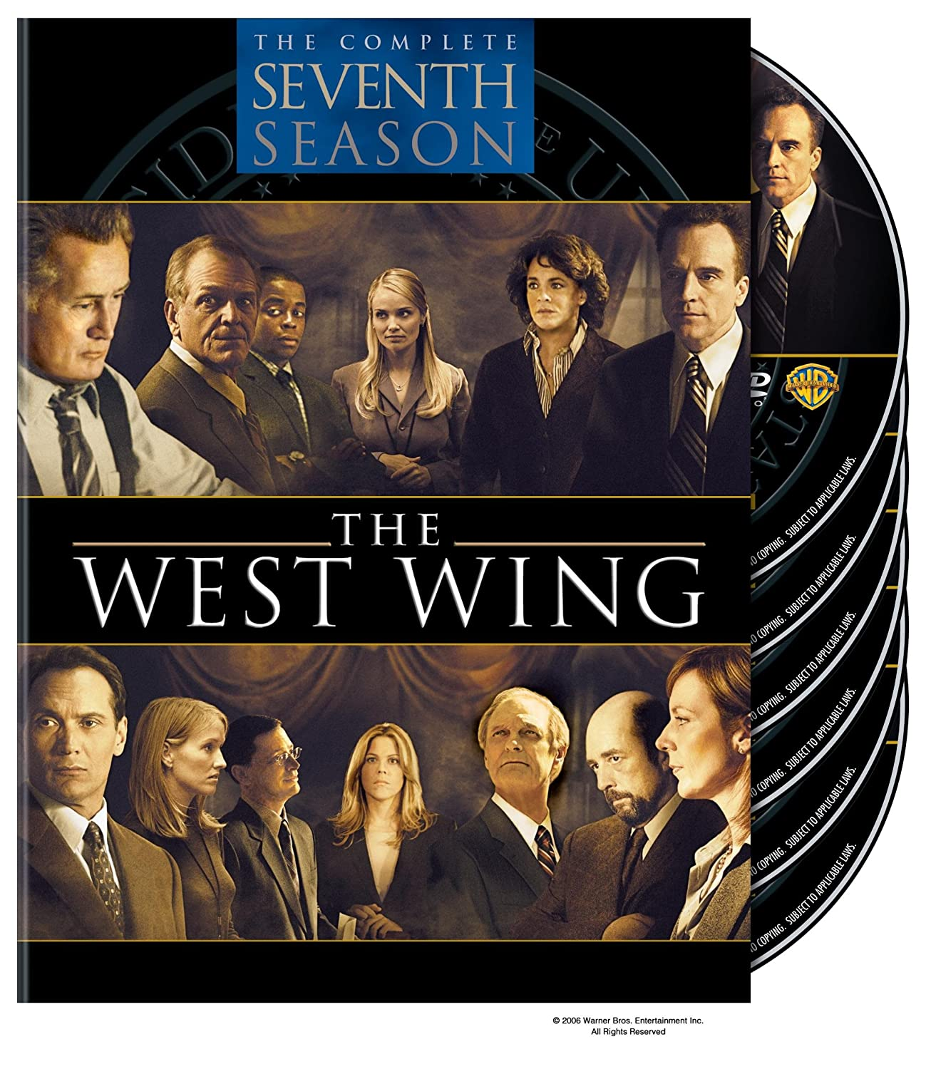 the west wing tv series season 7 dvd 2006 6 disc set box set 7321900818889 ebay. Black Bedroom Furniture Sets. Home Design Ideas