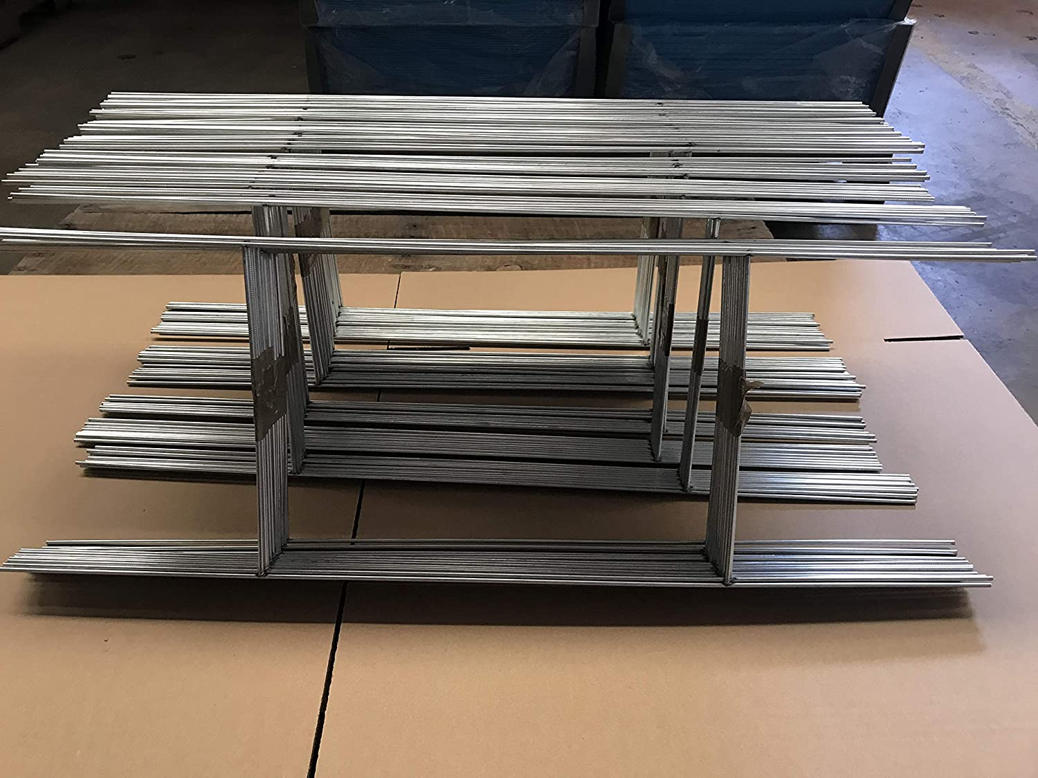 """20 White Signs 18/"""" x 24/"""" x4 mm corrugated plastic with 20 Stake 10x30/'/' x 9gauge"""