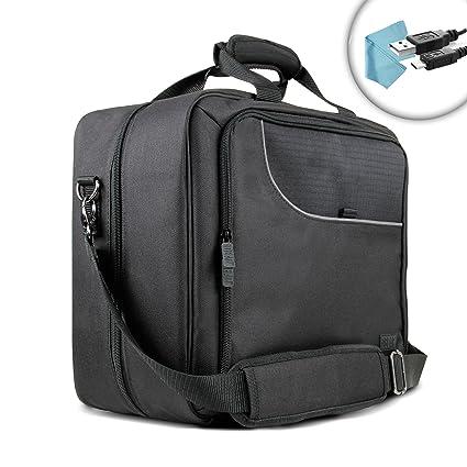 Xbox ONE S mit Schutzhülle Konsole Travel Tasche mit Controller, Spiele, Headset, Kinect, Zubehör Verstellbarer Speicher für