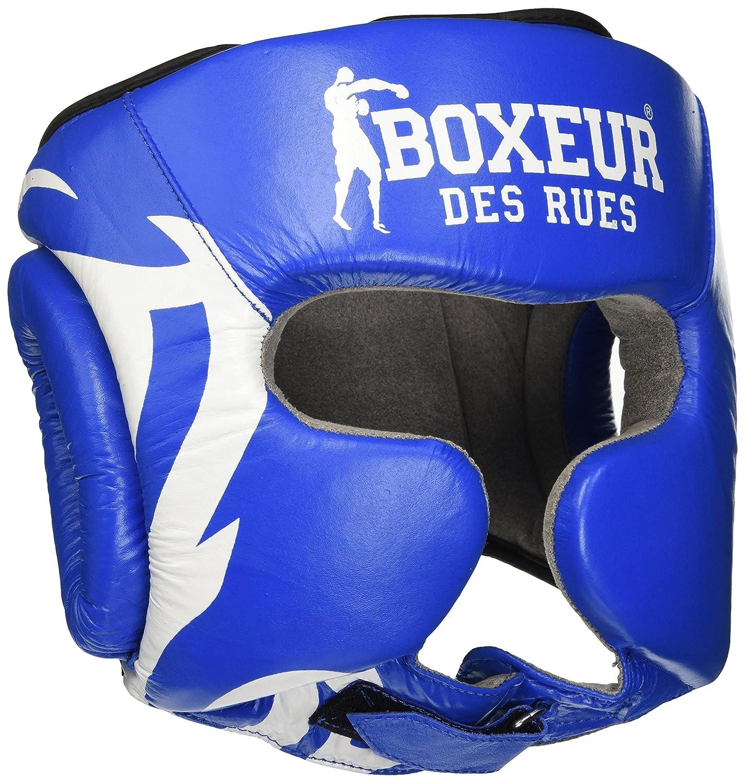BOXEUR DES RUES Bxt-hg04 Casco Boxeo Logo Tribal Unisex Adulto