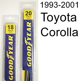 "product image for Toyota Corolla (1993-2001) Wiper Blade Kit - Set Includes 20"" (Driver Side), 18"" (Passenger Side) (2 Blades Total)"